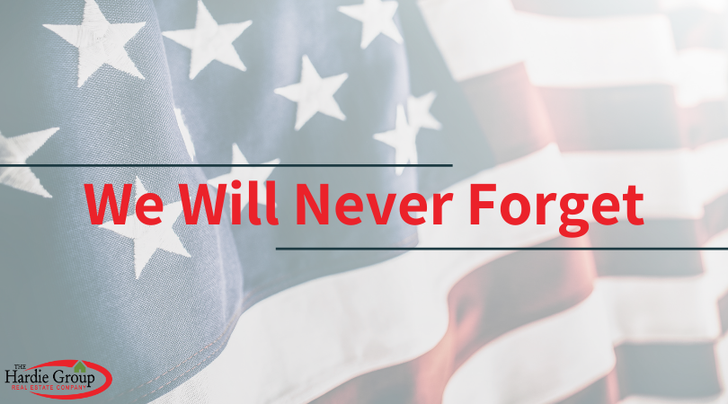 We will remember every rescuer who died in honor. Every American life lost. Every family that grieves. We will never forget September 11, 2001.
